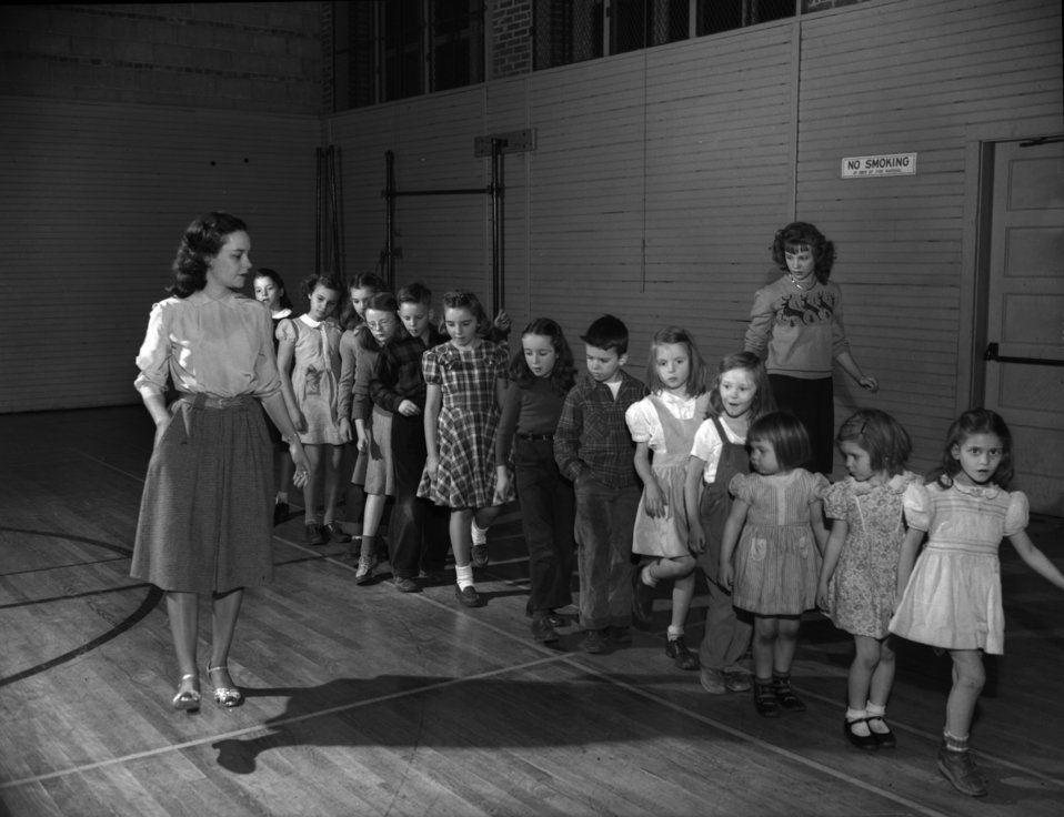 Tap Dancing, Elm Grove School