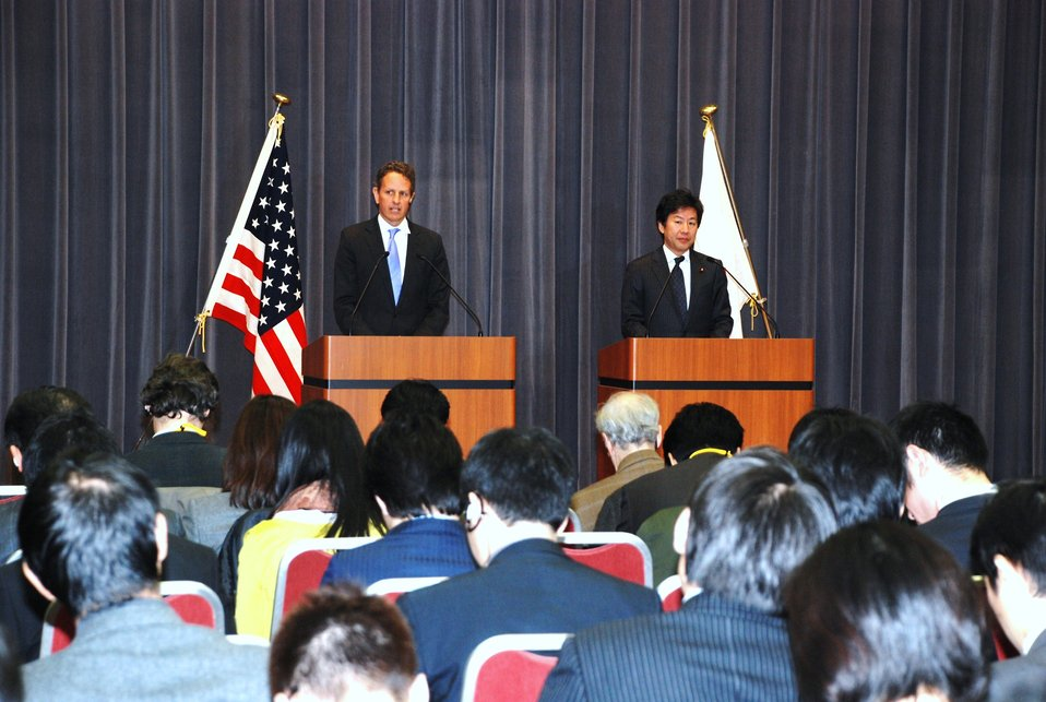 Secretary Geithner in Japan