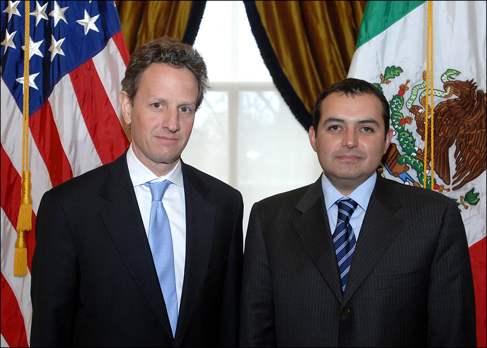 Mexican Secretary of Finance Ernesto Cordero