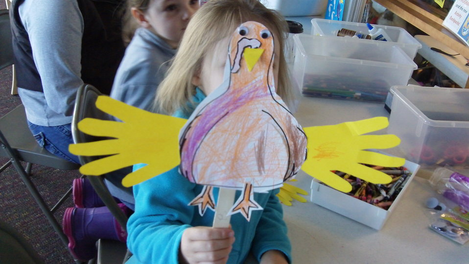 Handmade Turkey Puppet