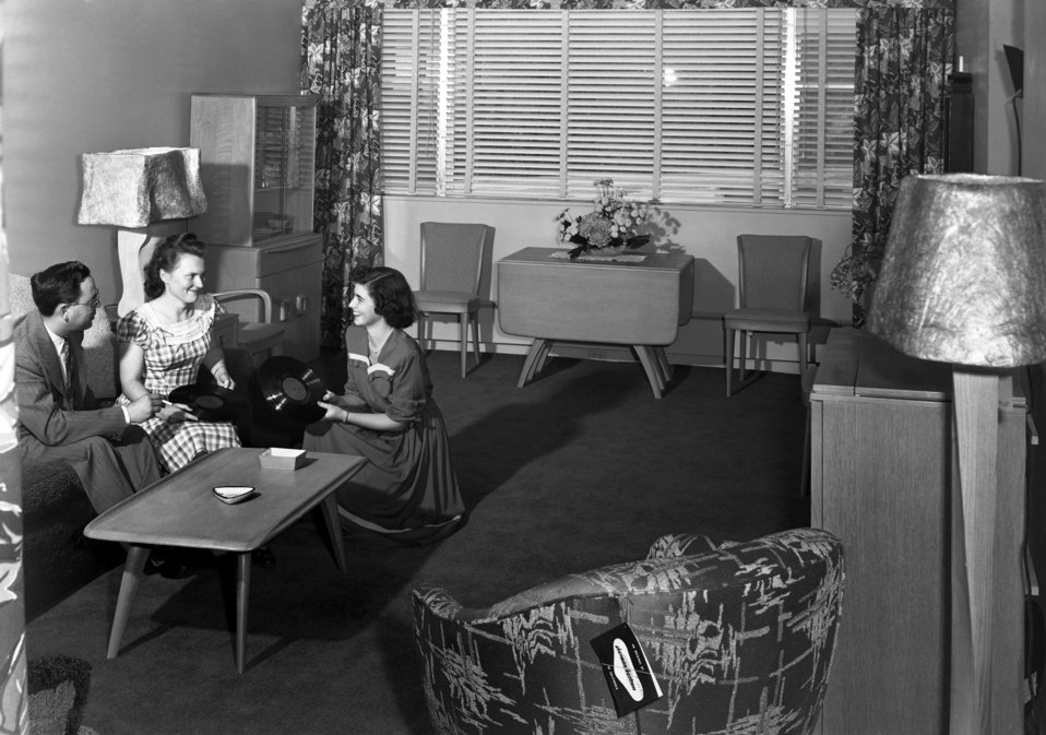 Garden Apartments Oak Ridge 1949