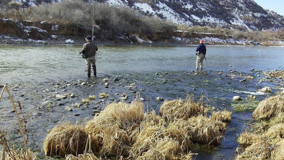 Fishing on the Gunnison River