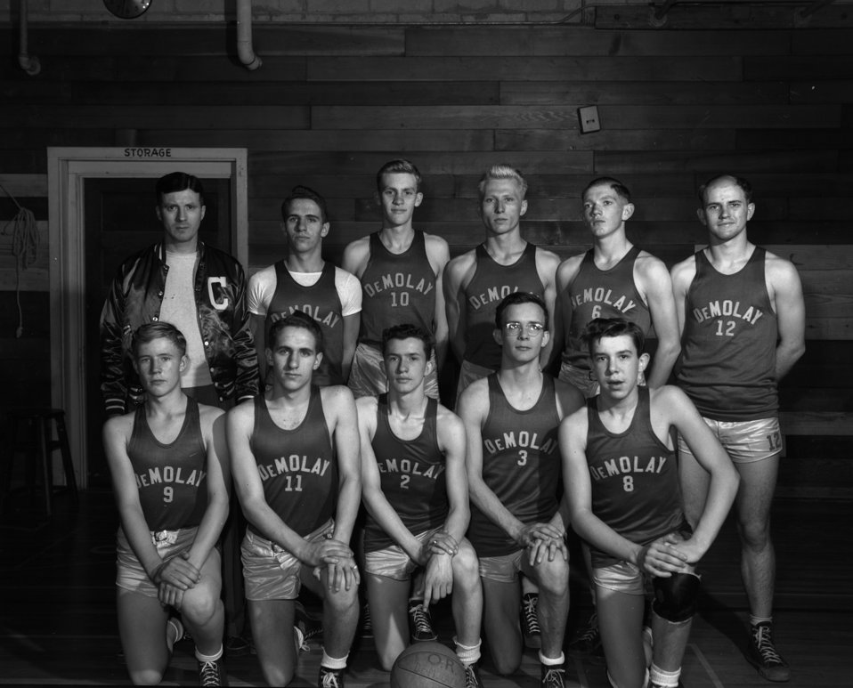 DeMolay Basketball Team
