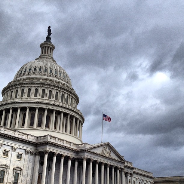 Warm and Stormy Afternoon on Capitol Hill