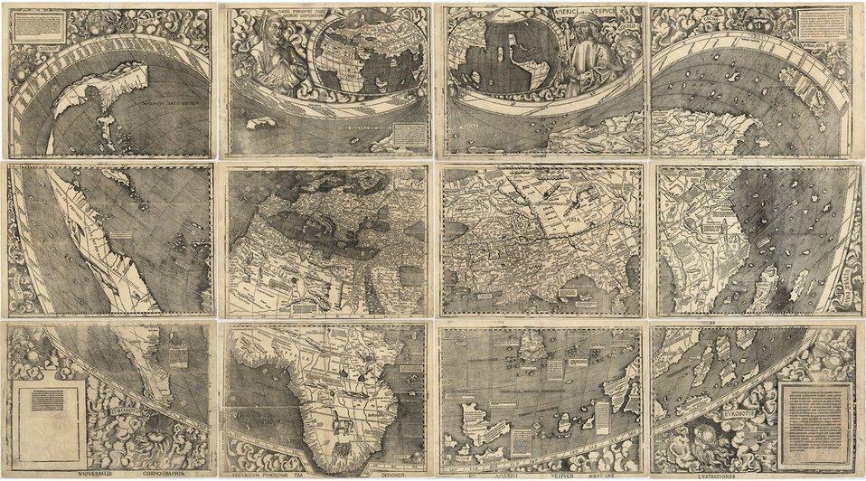 NIST to Preserve 1507 Map. America's 'Birth Certificate'