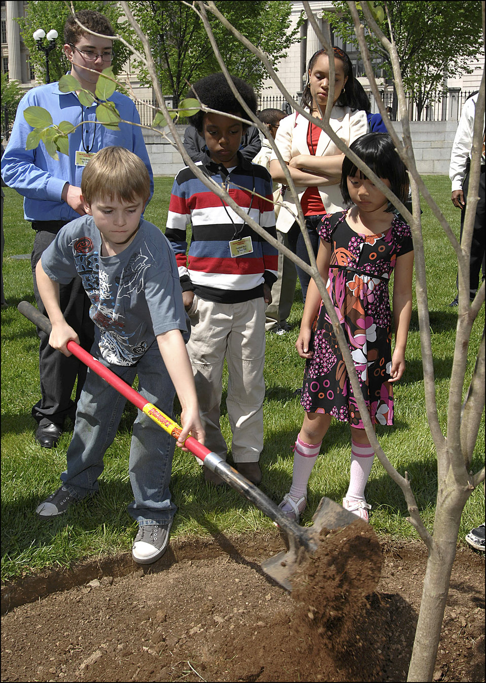 Earth Day/Take Your Children to Work Day, 4/22/10