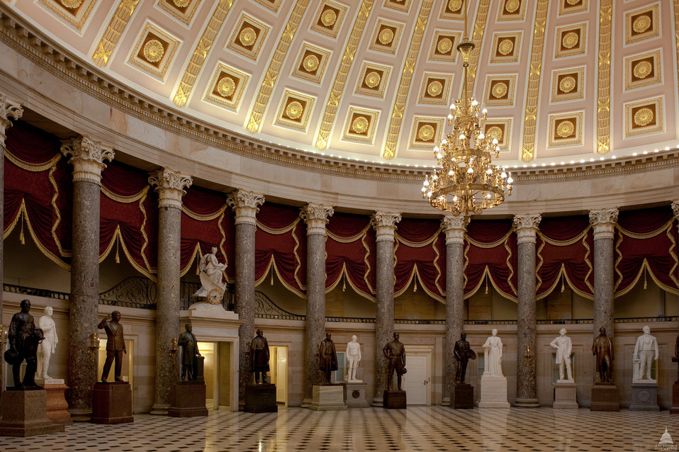 National Statuary Hall in the U.S. Capitol