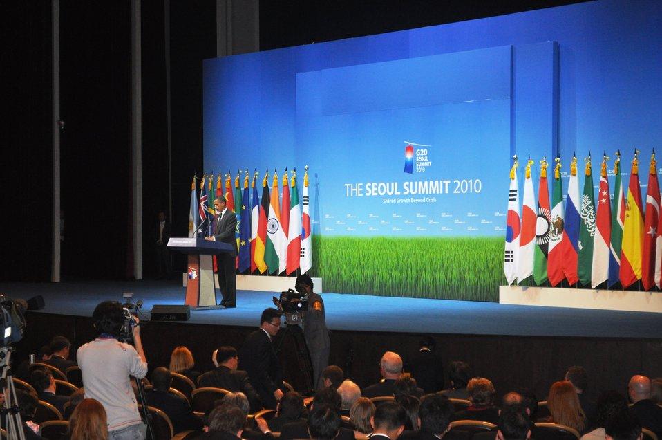 Geithner visit to Asia, November 4-12, 2010