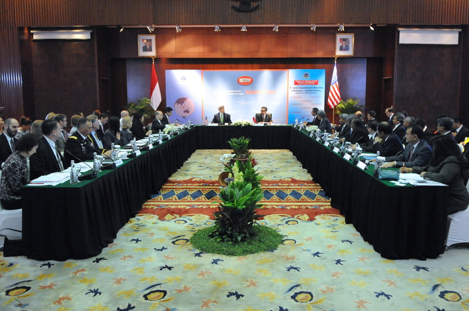 U.S.-Indonesia Joint Commission Meeting Convenes in Jakarta