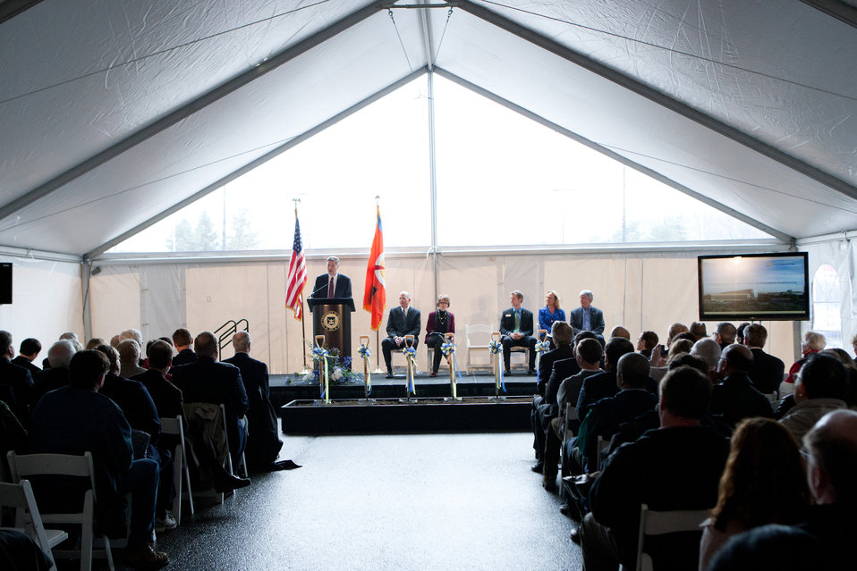 Center of Excellence in Nano Mechanical Science and Engineering Ground Breaking