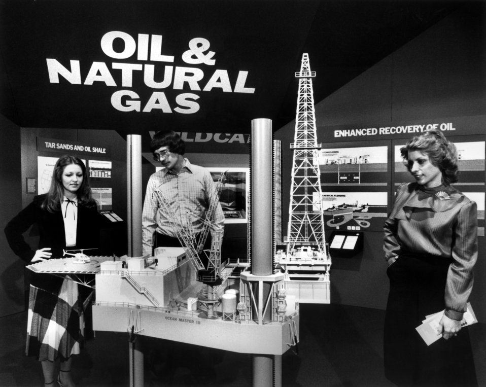 Oil and Natural Gas Exhibit at American Museum of Science and Energy Oak Ridge