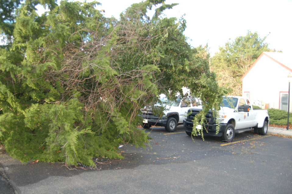 Hurricane Sandy hit the New Jersey Field Office