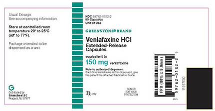 RECALLED – Venlafaxine HCl 150 mg extended-release capsules