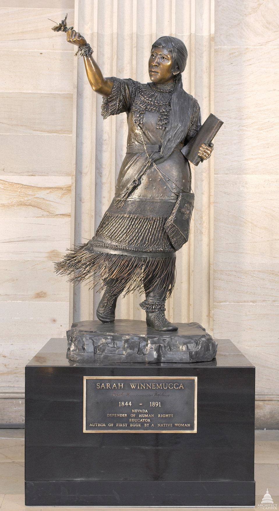 Sarah Winnemucca Statue