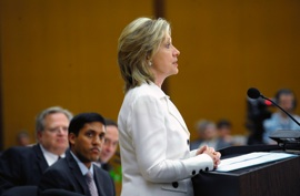 Secretary Clinton Delivers Remarks at Pride Month Celebration Event