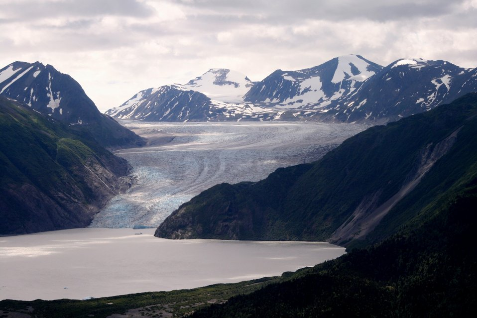 Skilak Glacier, Kenai National Wildlife Refuge, AK
