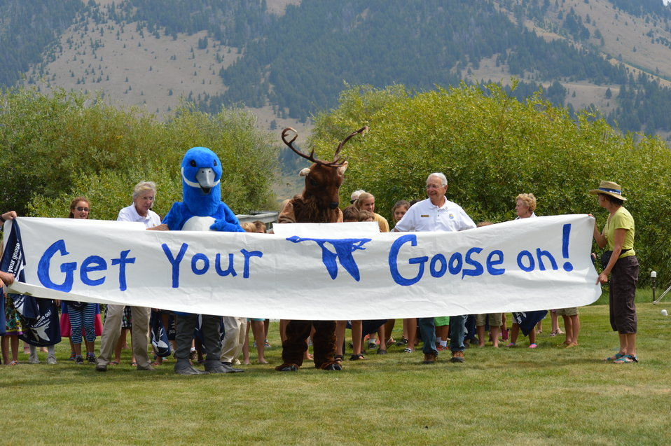 Get Your Goose On! - National Elk Refuge Style
