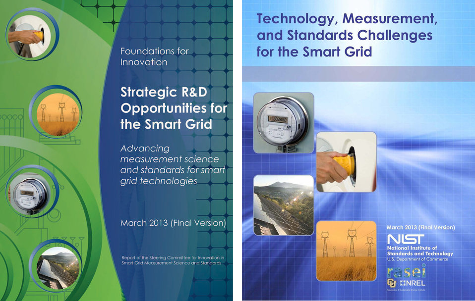 Smart Grid Publication Covers