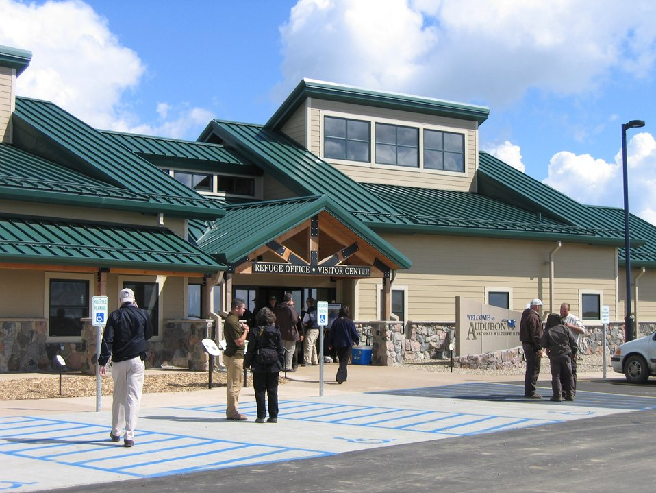 Audubon National Wildlife Refuge Headquarters and Visitor Center Entrance