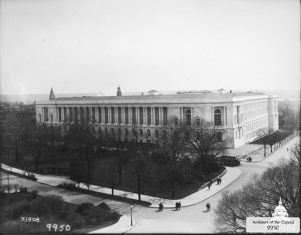 Newly completed Cannon House Office Building -1908