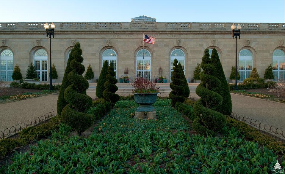 U.S. Botanic Garden Conservatory Entrance