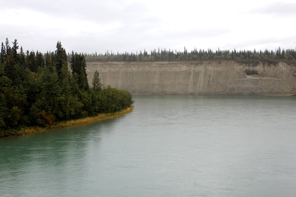 Near the junction of the MacKenzie and Red River of the North.
