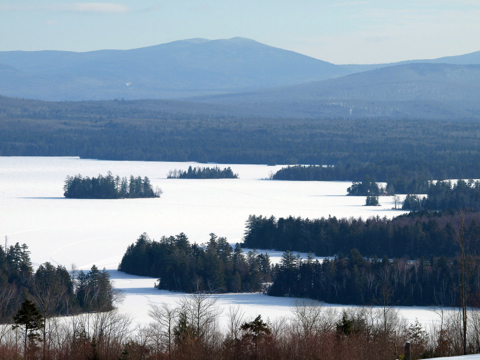 Photo of the Week - Frozen Lake Umbagog (NH)