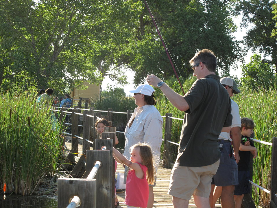 Families Fishing