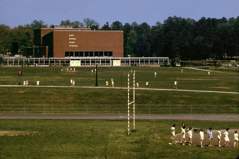 PE Class Oak Ridge High School