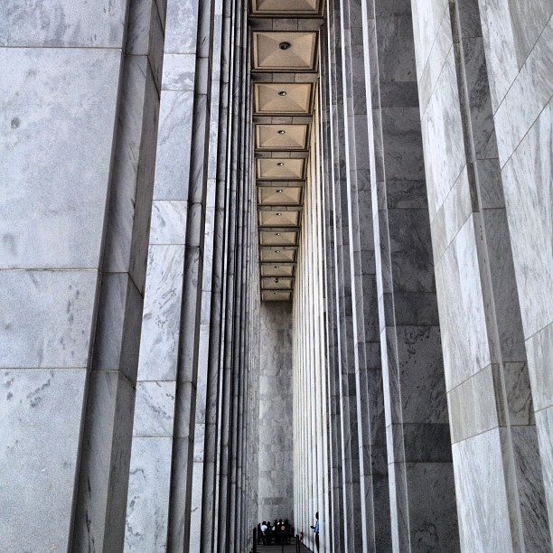 Library of Congress Madison Building entrance. #DC