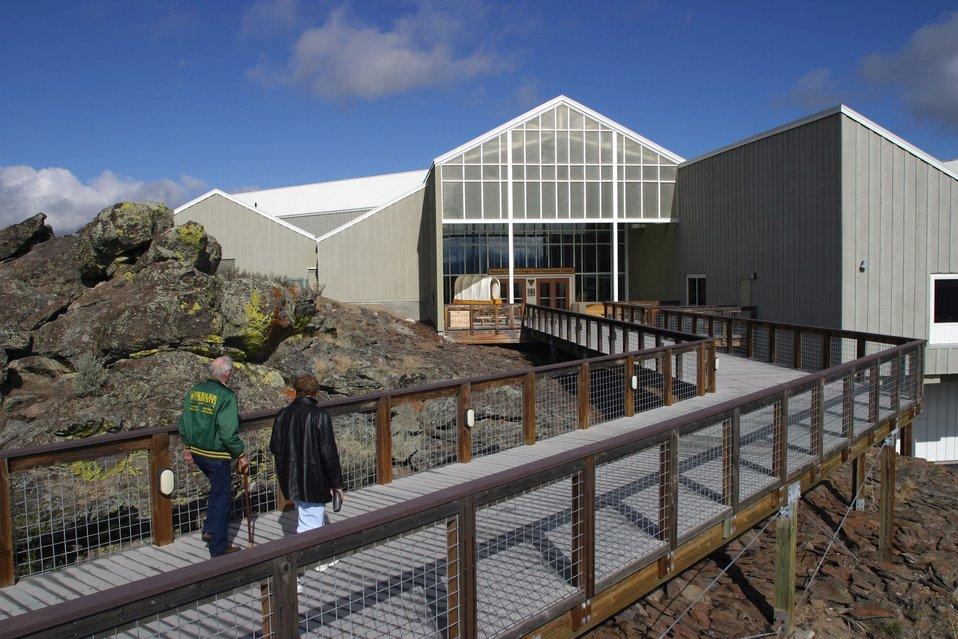National Historic Oregon Trail Interpretive Center entrance.
