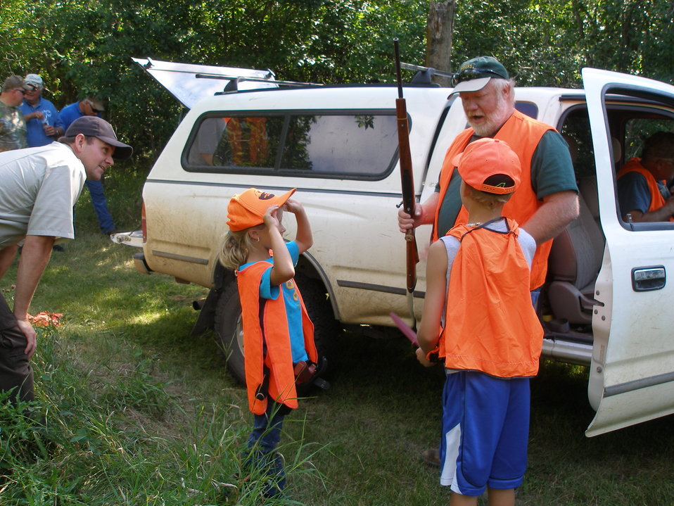 2011 Greenwing Day - Game Warden scenario session