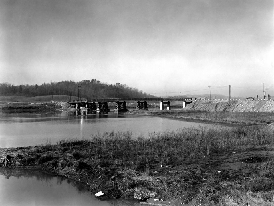 Gallaher Bridge Oak Ridge 1945