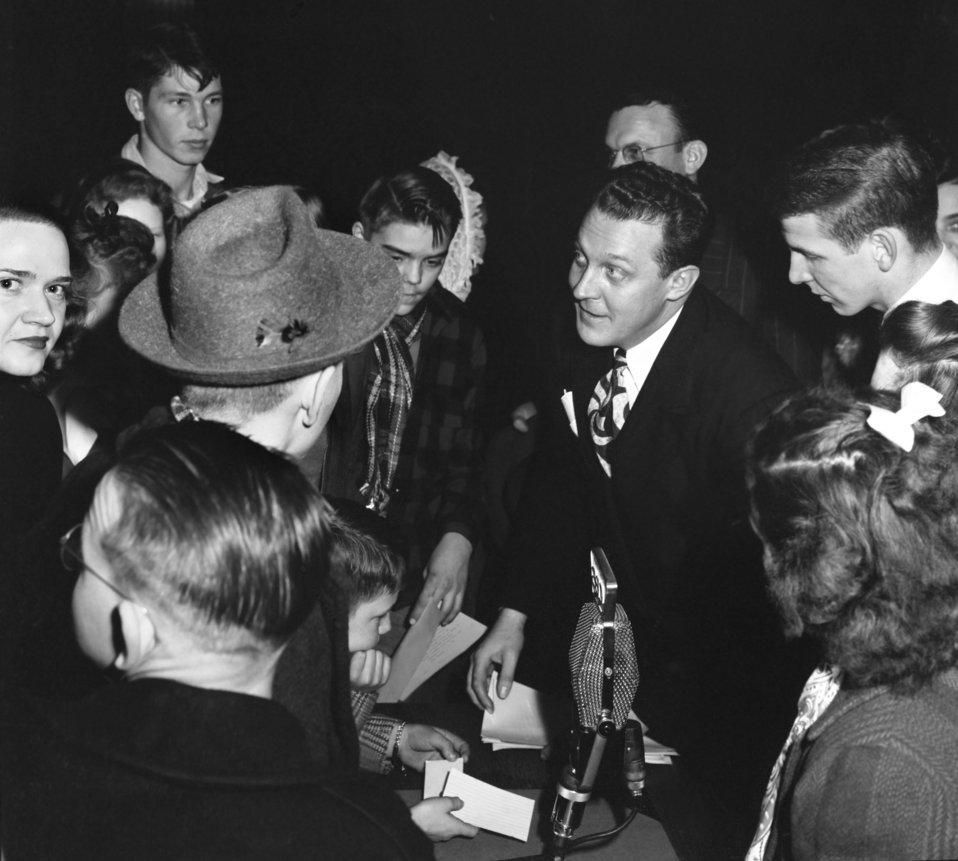 Radio Broadcast 'We the People' Oak Ridge 1947