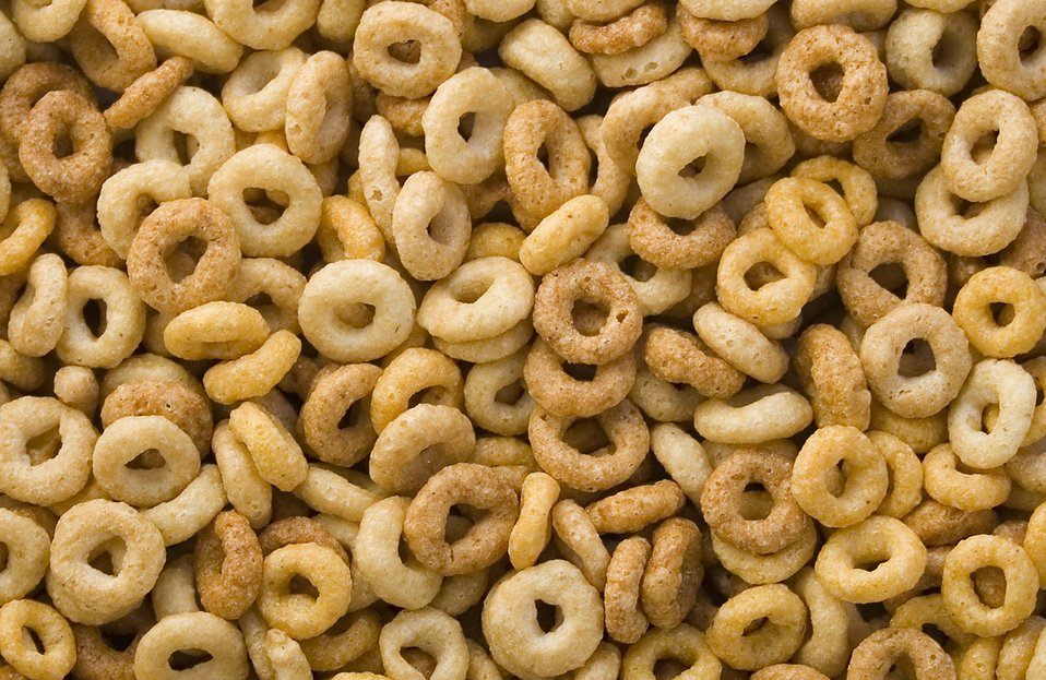 Mixture of cereals