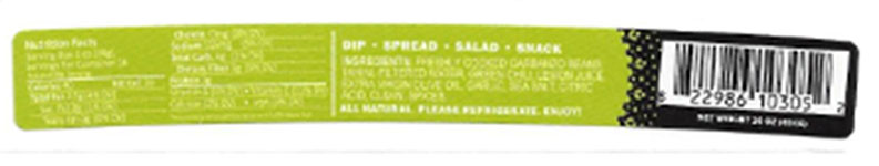 RECALLED – Green Chile Hummus and Wraps