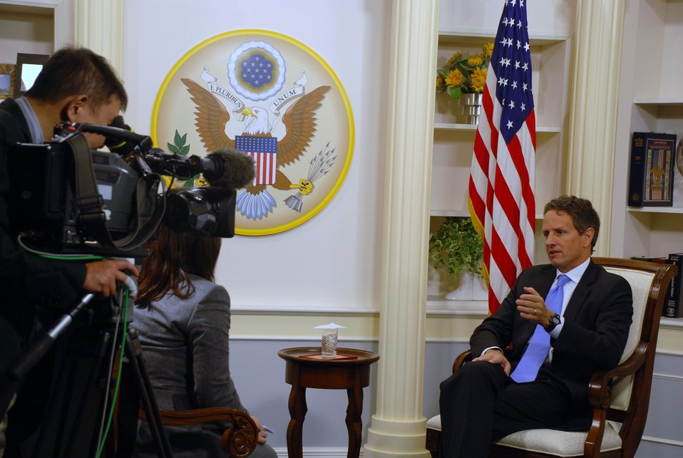 Secretary Geithner in Japan