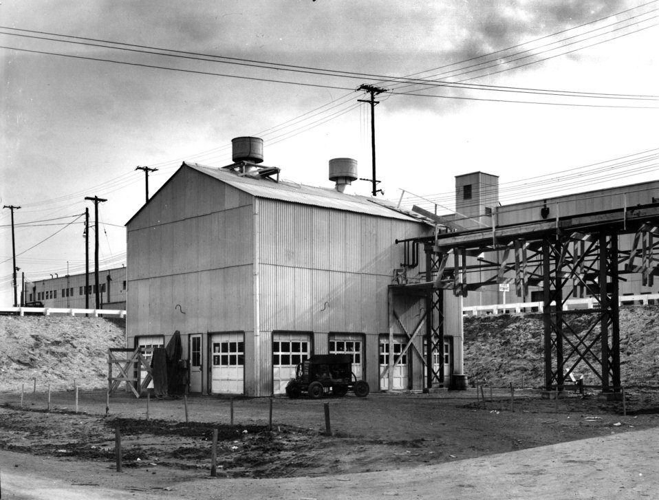 Exterior View of K-730 K-25 Plant Oak Ridge