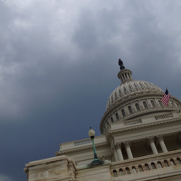 Storms headed toward Capitol