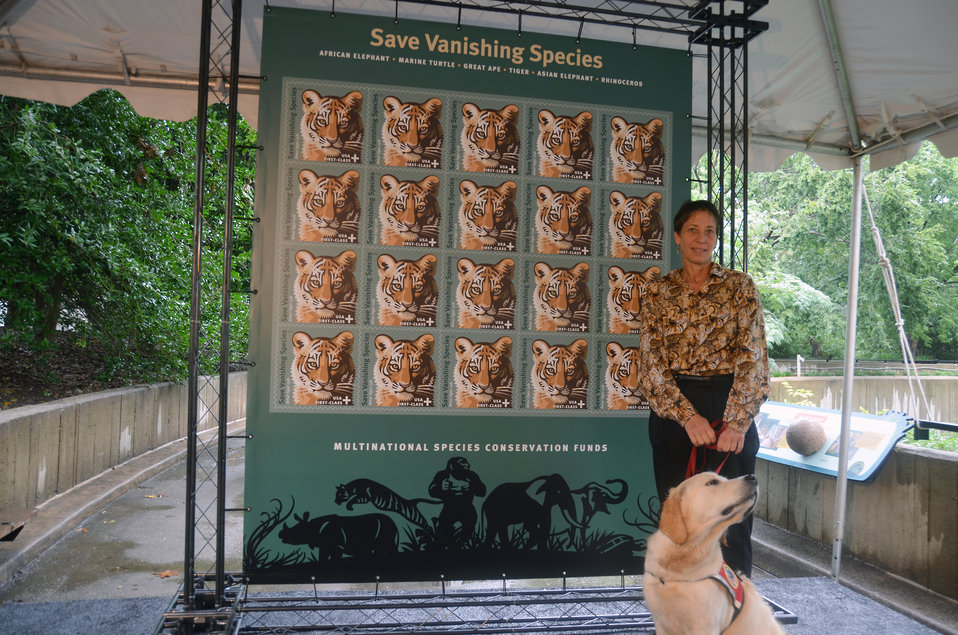 Save Vanishing Species Stamp First Day of Issue