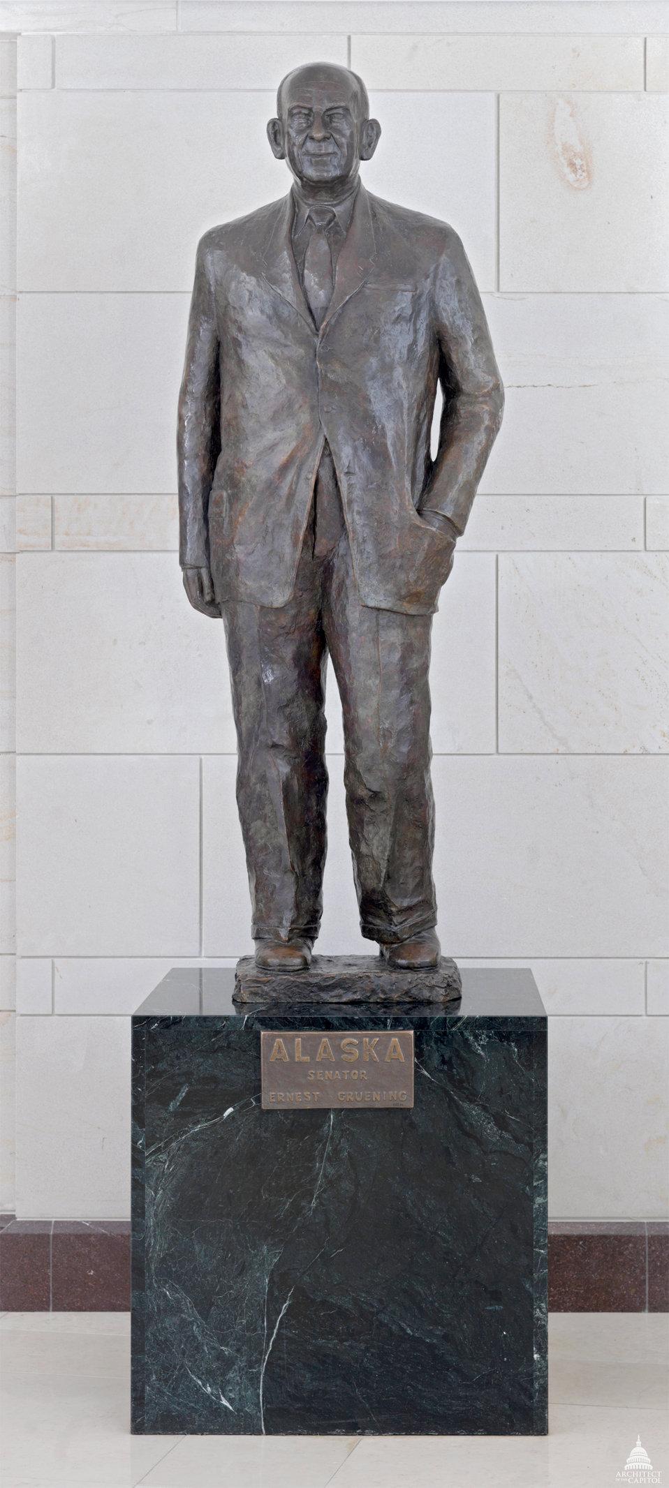 Ernest Gruening Statue