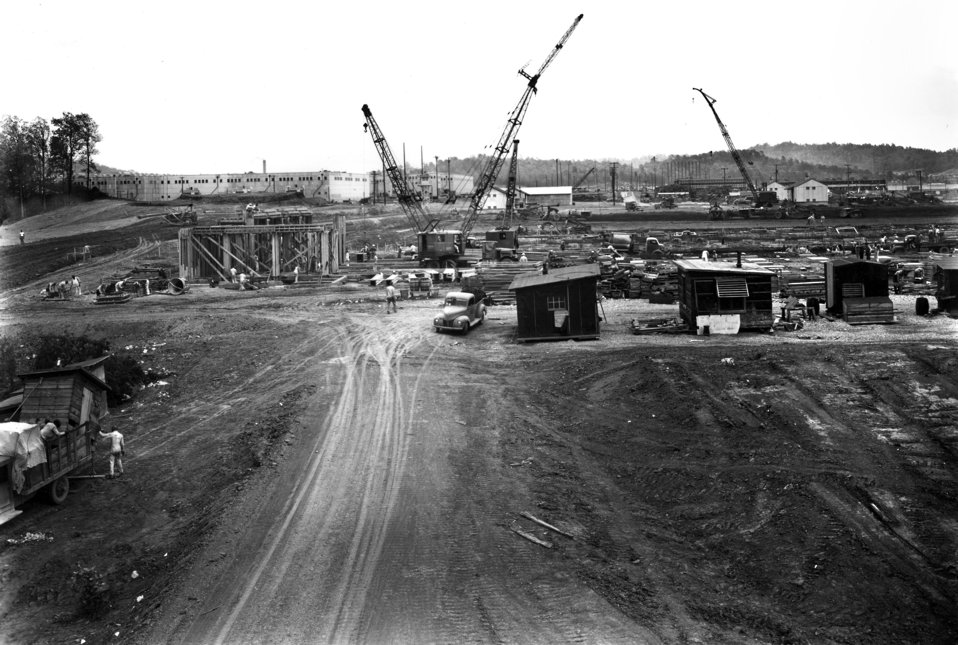 Construction of K-27 Oak Ridge