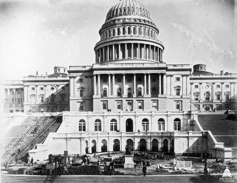 US Capitol West Front 1888