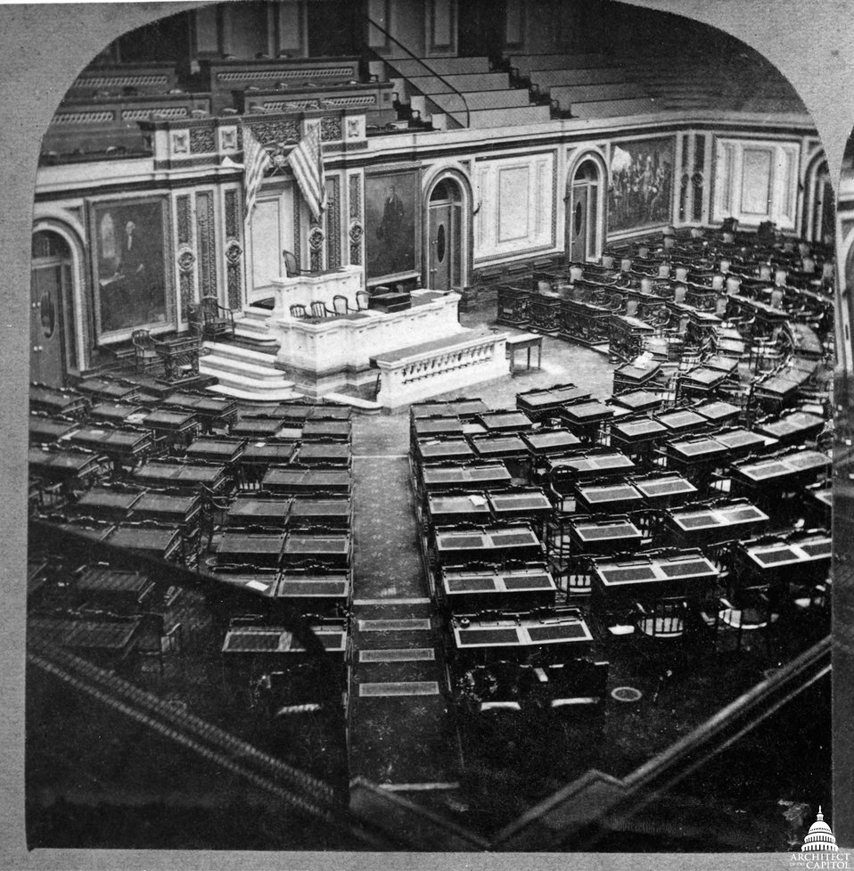 House of Representatives Chamber 1865