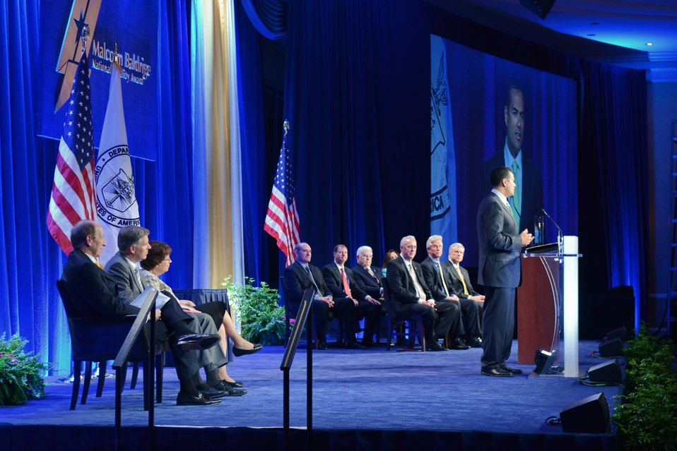 View of Stage 2012 Baldrige Award Ceremony