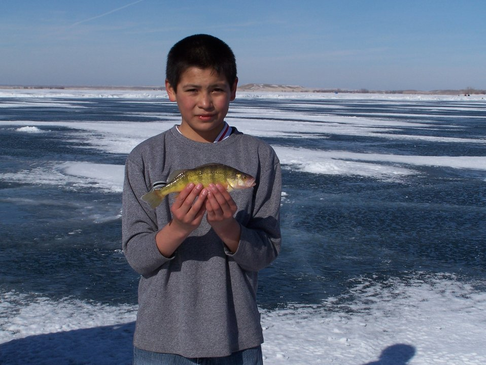 Ice Fishing, Bowdoin WMD