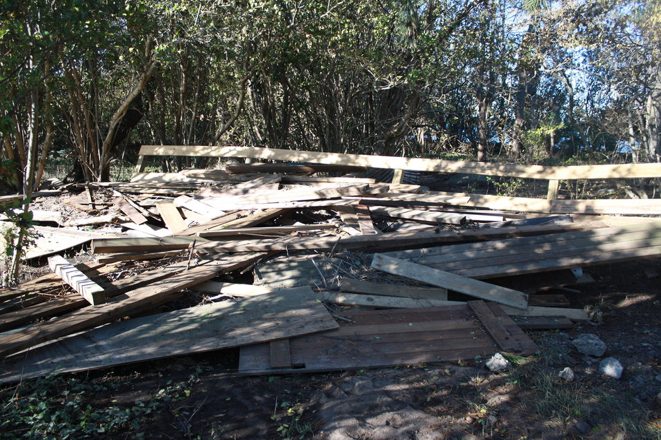 Damage at Stewart B. McKinney National Wildlife Refuge (CT)