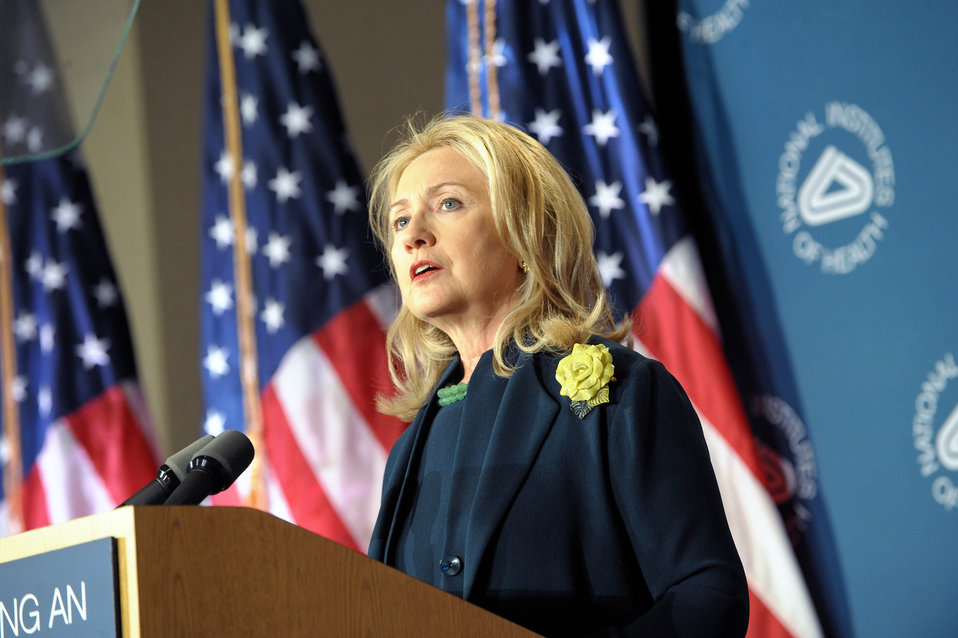 Secretary Clinton Delivers Remarks on the Future of the Global HIV/AIDS Epidemic
