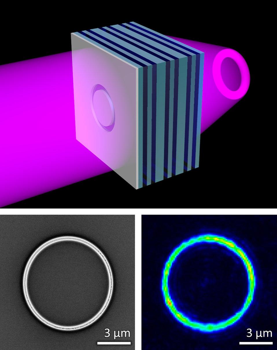 Metamaterial 'Flat Lens'
