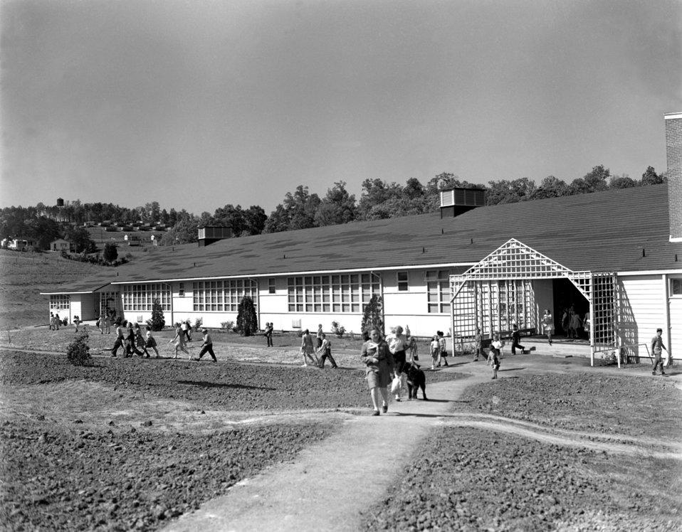 Pine Valley School Oak Ridge 1947
